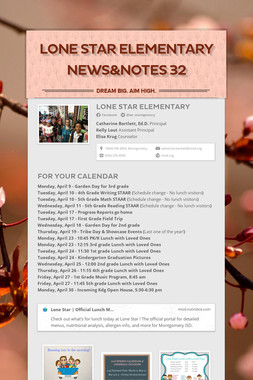 Lone Star Elementary News&Notes 32