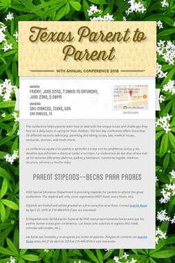 Texas Parent to Parent
