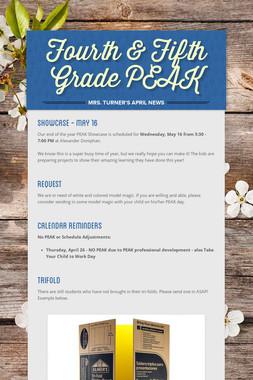 Fourth & Fifth Grade PEAK