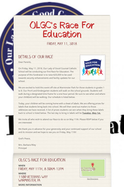 OLGC's Race For Education