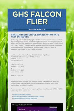 GHS Falcon Flier
