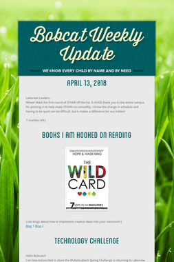 Bobcat Weekly Update