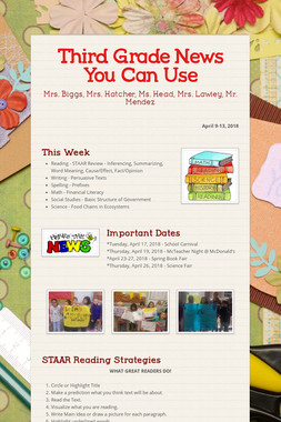 Third Grade News You Can Use