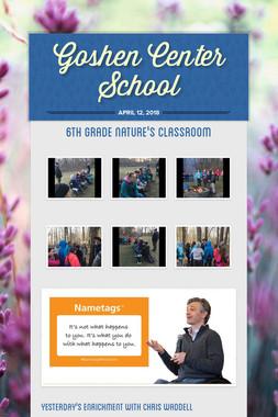 Goshen Center School