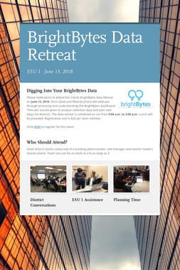 BrightBytes Data Retreat