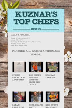 Kuznar's Top Chefs