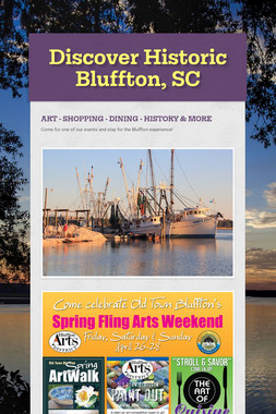 Discover Historic Bluffton, SC