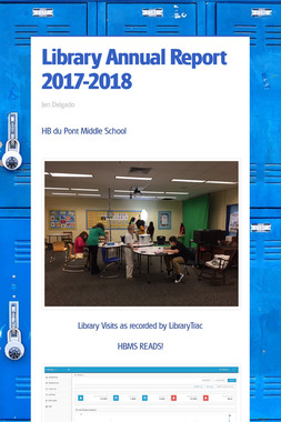 Library Annual Report 2017-2018