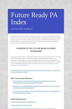 Future Ready PA Index