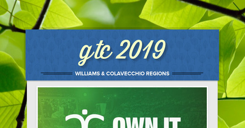gtc 2019   Smore Newsletters for Education