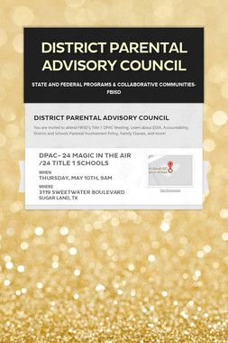 District Parental Advisory Council