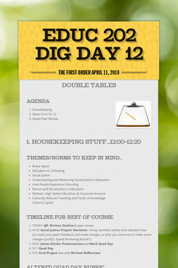 EDUC 202 DIG Day 12
