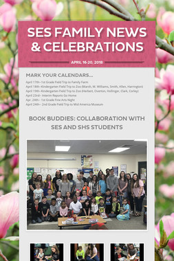 SES Family News & Celebrations
