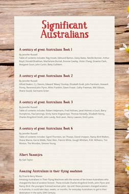 Significant Australians
