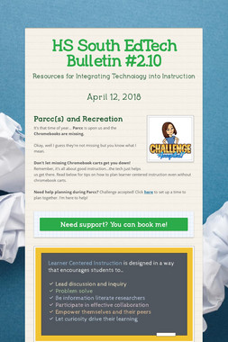 HS South EdTech Bulletin #2.10