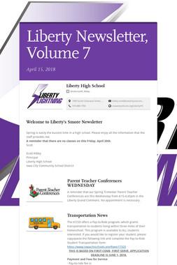 Liberty Newsletter, Volume 7