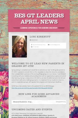 BES GT LEADers April News