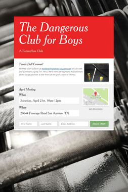 The Dangerous Club for Boys