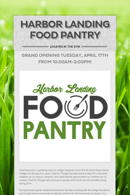 Harbor Landing Food Pantry