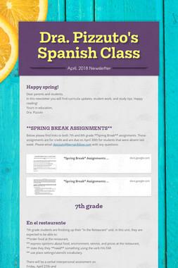 Dra. Pizzuto's Spanish Class