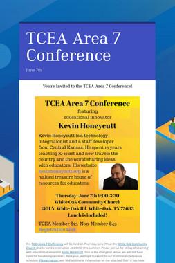 TCEA Area 7 Conference