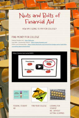 Nuts and Bolts of Financial Aid