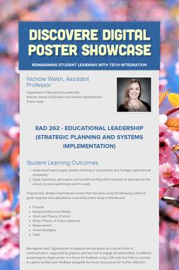 DISCOVERe Digital Poster Showcase