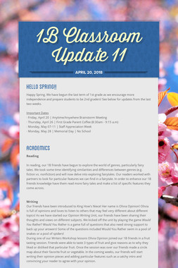 1B Classroom Update 11