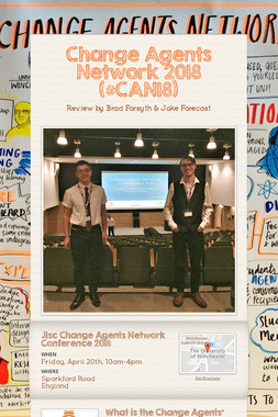 Change Agents Network 2018 (#CAN18)