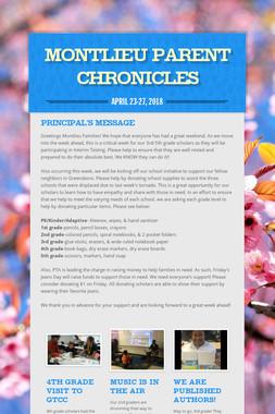 Montlieu Parent Chronicles