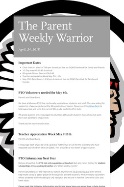 The Parent Weekly Warrior