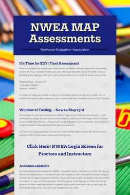 NWEA MAP Assessments