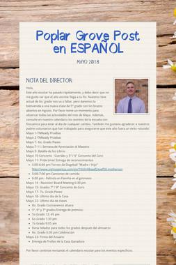 Poplar Grove Post en ESPAÑOL