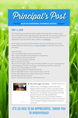 Principal's Post
