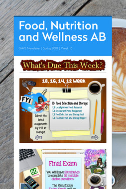 Food, Nutrition and Wellness AB