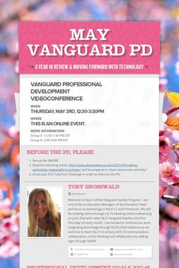 May Vanguard  PD
