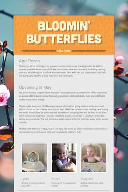 bloomin' butterflies
