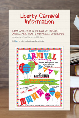 Liberty Carnival Information