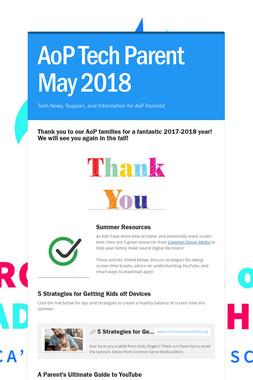 AoP Tech Parent May 2018