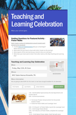 Teaching and Learning Celebration