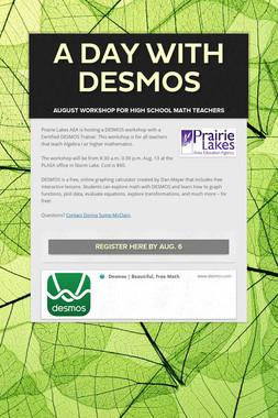 A Day with DESMOS