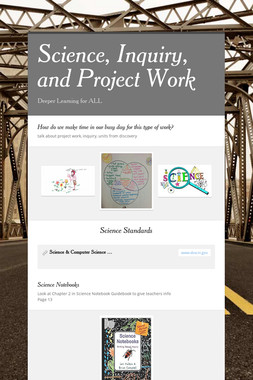 Science, Inquiry, and Project Work