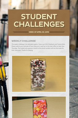 Student Challenges