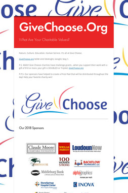 GiveChoose.Org