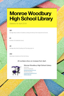 Monroe Woodbury High School Library