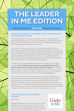 The Leader in Me Edition