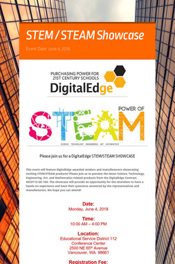 STEM / STEAM Showcase