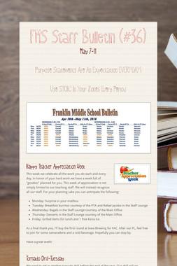 FMS Staff Bulletin (#36)