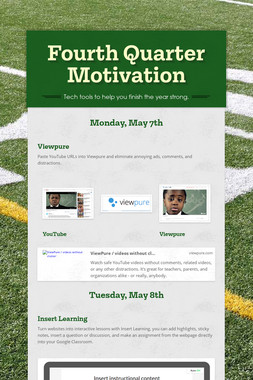 Fourth Quarter Motivation