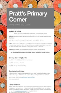 Pratt's Primary Corner
